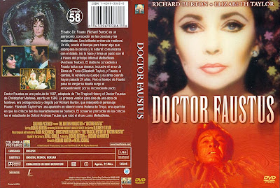 Carátula dvd: Doctor Fausto 1967