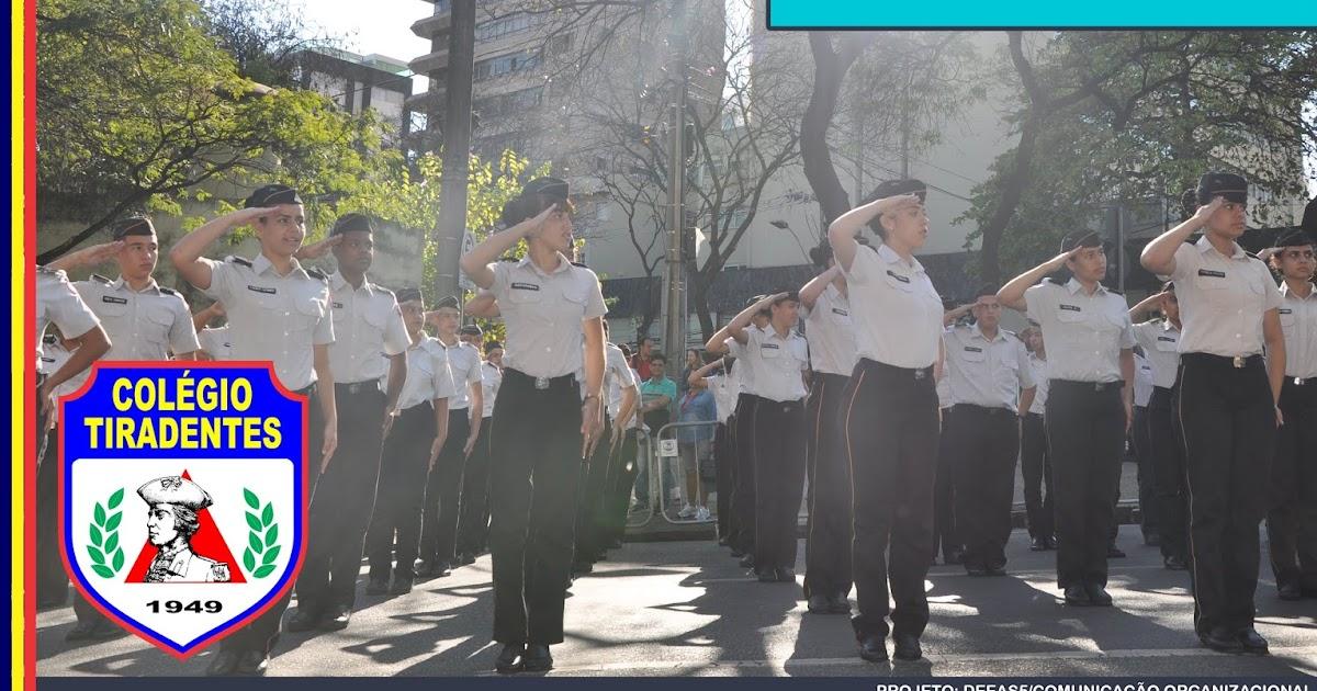 Colégio Tiradentes da Polícia Militar de Minas Gerais -Uberlândia  📃  Edital 2019 👍 f74514187cc6f
