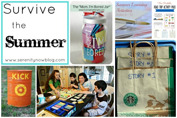 Ideas to Survive the Summer with Kids, at Serenity Now