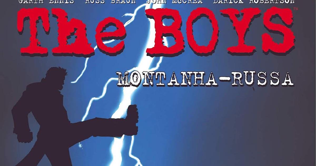 The Boys Volume 9: Montanha Russa (Português) Capa comum – 19 Maio 2020