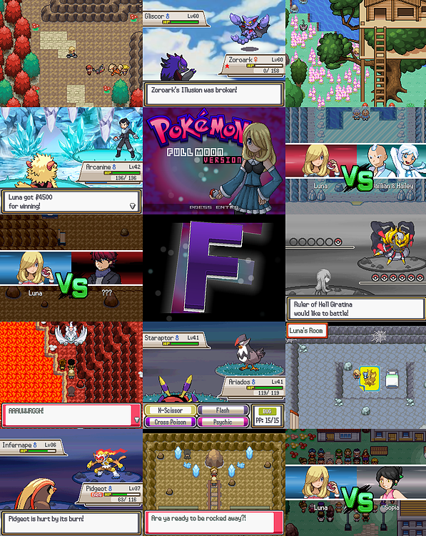 Pokemon Full Moon Version RPG Maker XP Download