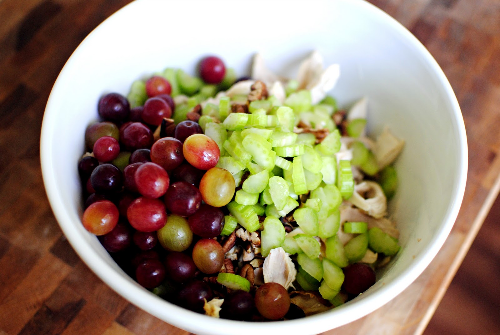 Simply Scratch Chicken Salad With Grapes Pecans Simply Scratch