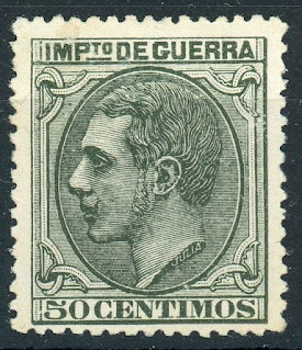 Spain 1879, King Alfonso Xii