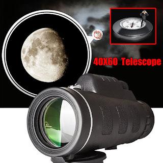 monoculare telescopio zoom 40 x 60