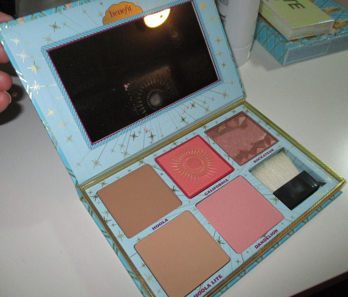 Cheek Parade Bronzer & Blush Palette by Benefit #17