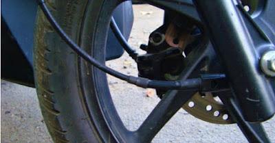 Kebersihan kabel Speedometer