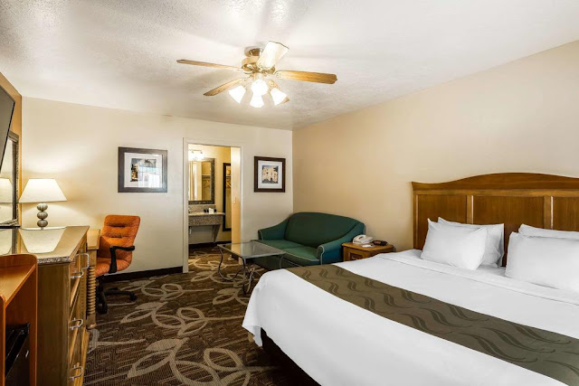 Alojamiento en Bryce (Quality Inn Western Resort)
