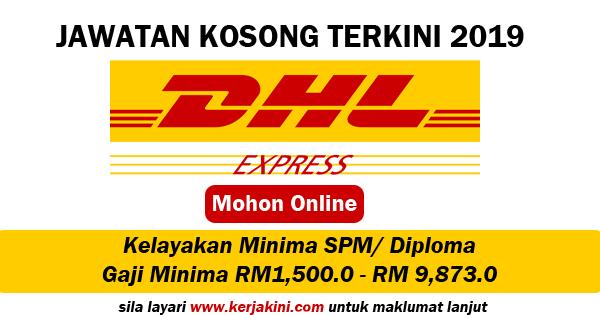 Jawatan Kosong 2019 DHL