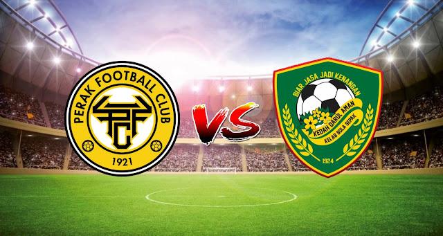 Live Streaming Perak FC vs Kedah Darul Aman FC 17.4.2021 Liga Super