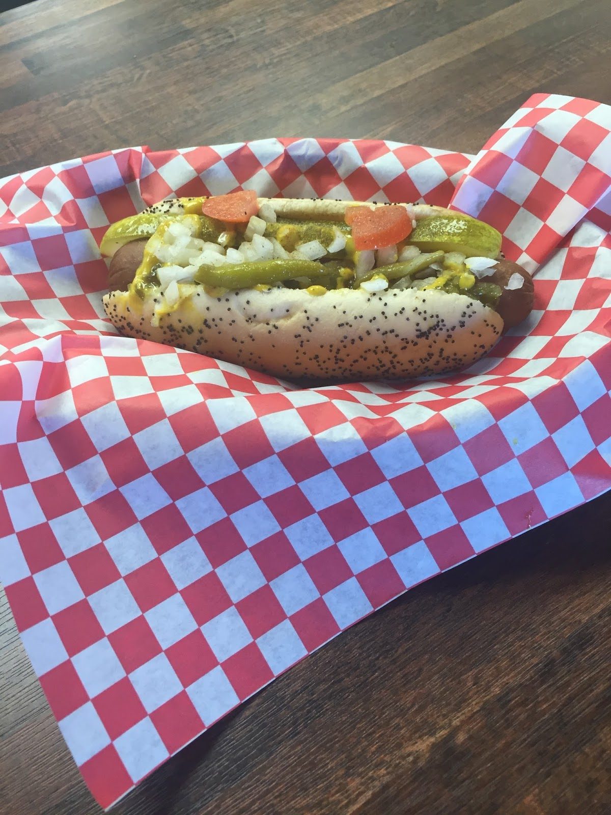 Akron Style Hot Dog