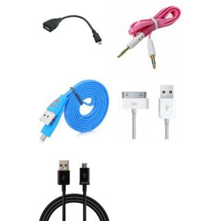 Loot Deal : 5 In One Cable Combo At Rs.91 + shipping Rs.24 _frickspanel