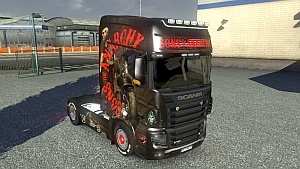 Sons of Anarchy skin for Scania R700