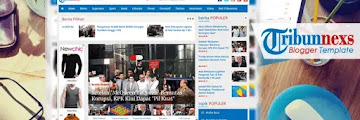 Download Free Tribunnexs Blogger Template Mirip Tribunnews