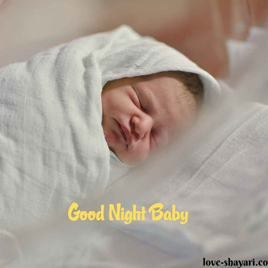 good night baby images hd