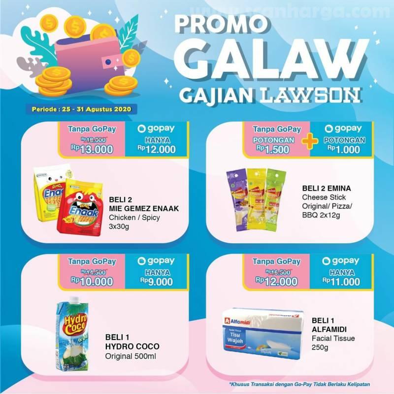Promo GALAW Gajian Lawson Payday 25 - 31 Agustus 2020