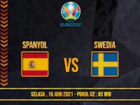 PIALA EROPA - PREDIKSI PERTANDINGAN SPANYOL VS SWEDIA