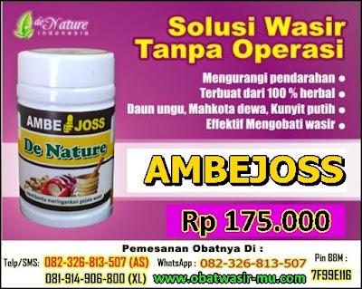 Jual Kapsul Ambejoss Obat Wasir (Telp/SMS) 081914906800