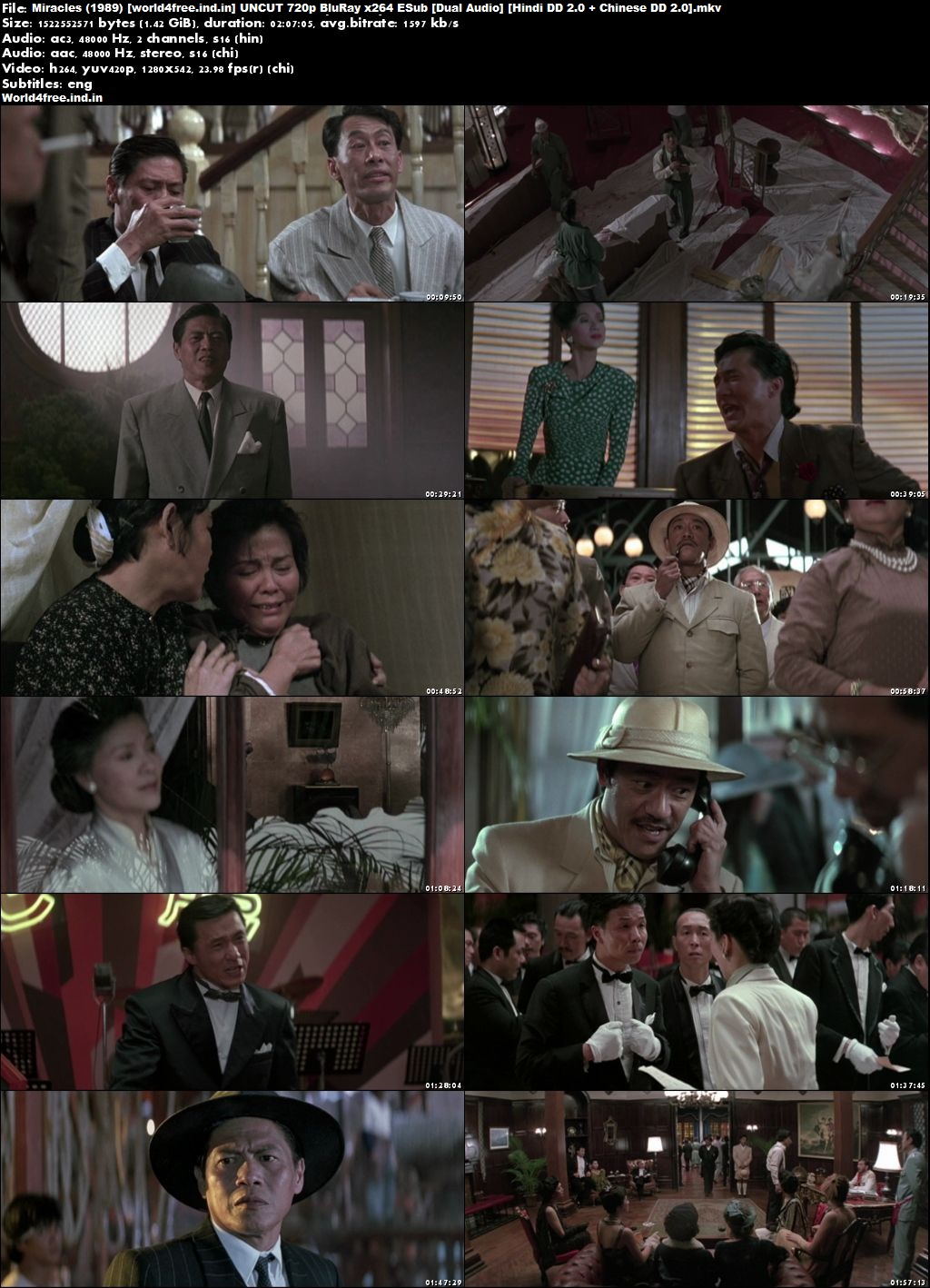Miracles 1989 world4free.ind.in BRRip 720p Dual Audio Hindi Chinese Download