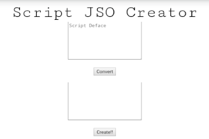 [ PHP ] Download Tools JSO Creator