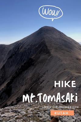 Hiking to Mt.Tomasaki, LaSal Mountains