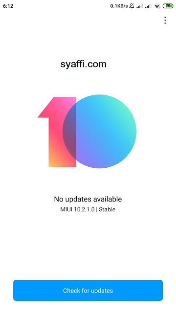 Cara menghilangkan iklan di MIUI 10 Xiaomi Redmi Note 4