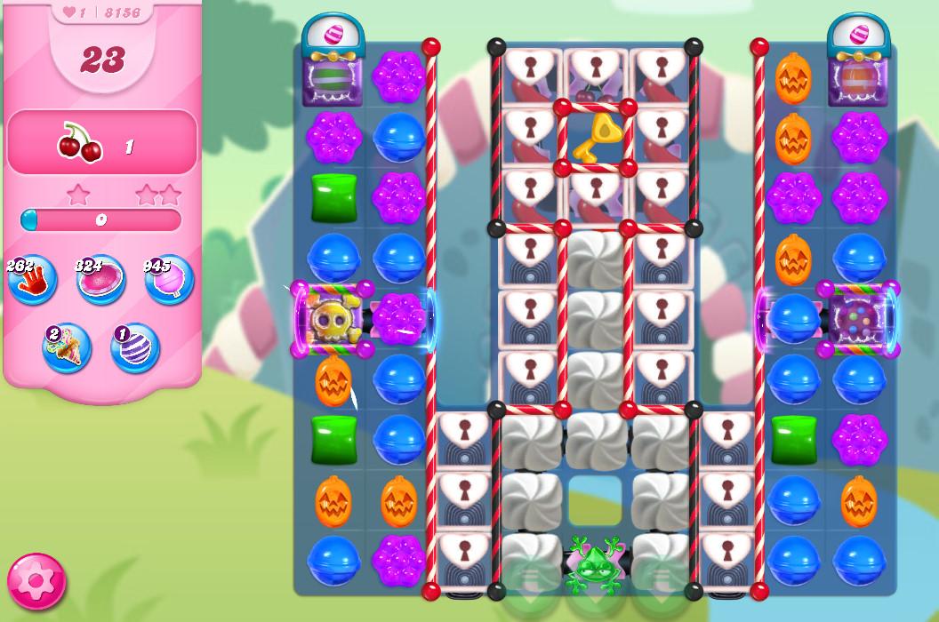 Candy Crush Saga level 8156