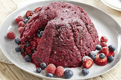 Panettone summer pudding with eggnog custard desserts recipes