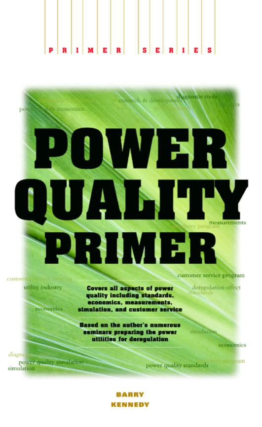 Power Quality In Electrical Systems Ebook