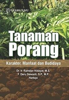 TANAMAN PORANG; KARAKTER, MANFAAT DAN BUDIDAYA