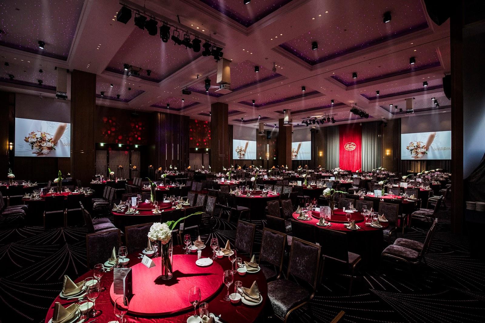凱達飯店的廳也很大氣開闊,色調沈穩大氣也算蠻不錯的