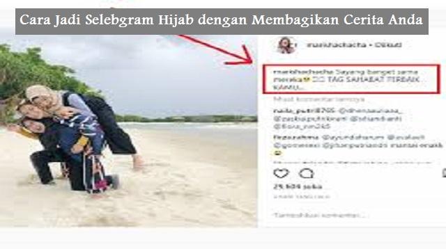 Cara Jadi Selebgram Hijab