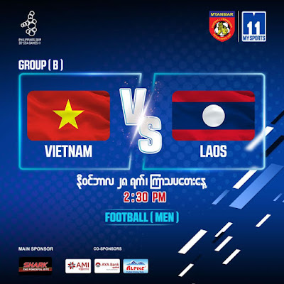 Live Streaming Vietnam vs Laos (SEA GAMES) 28.11.2019