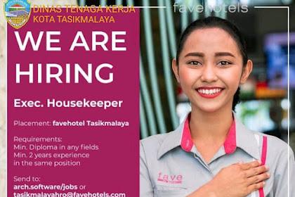 Lowongan Kerja Fave Hotel Tasikmalaya, Deadline 30 Juli