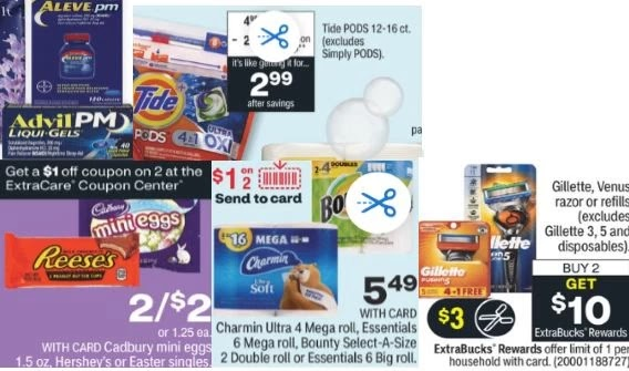 FREE Charmin, Tide, Advil, Gillette & Cadbury Mini Eggs