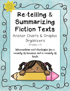https://www.teacherspayteachers.com/Product/Re-telling-and-Summarizing-Fiction-Texts-2256464