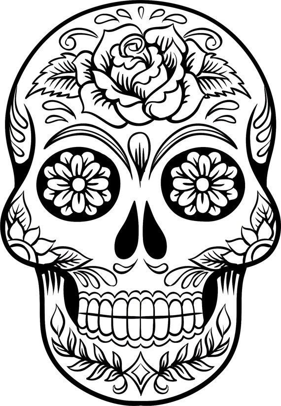 in addition to my printable sugar skull coloring pages check out