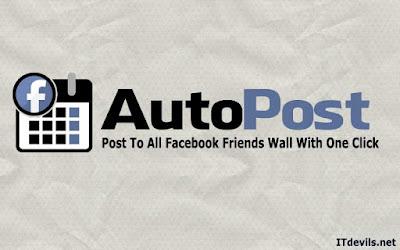 سكريبت النشر التلقائي  | كيف تنشر نفس المنشور على حائط جميع الأصدقاء ؟ Auto-Post-On-All-Friends-Wall-on-Facebook-1