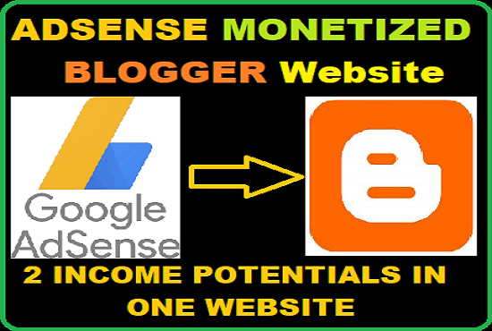 2 real ways to earn money online with this Google Adsense Blogger website.