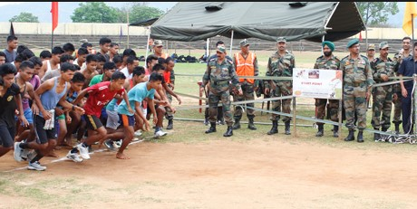 Karimganj  Army Rally, Indian Army Rally, Open Bharti Rally