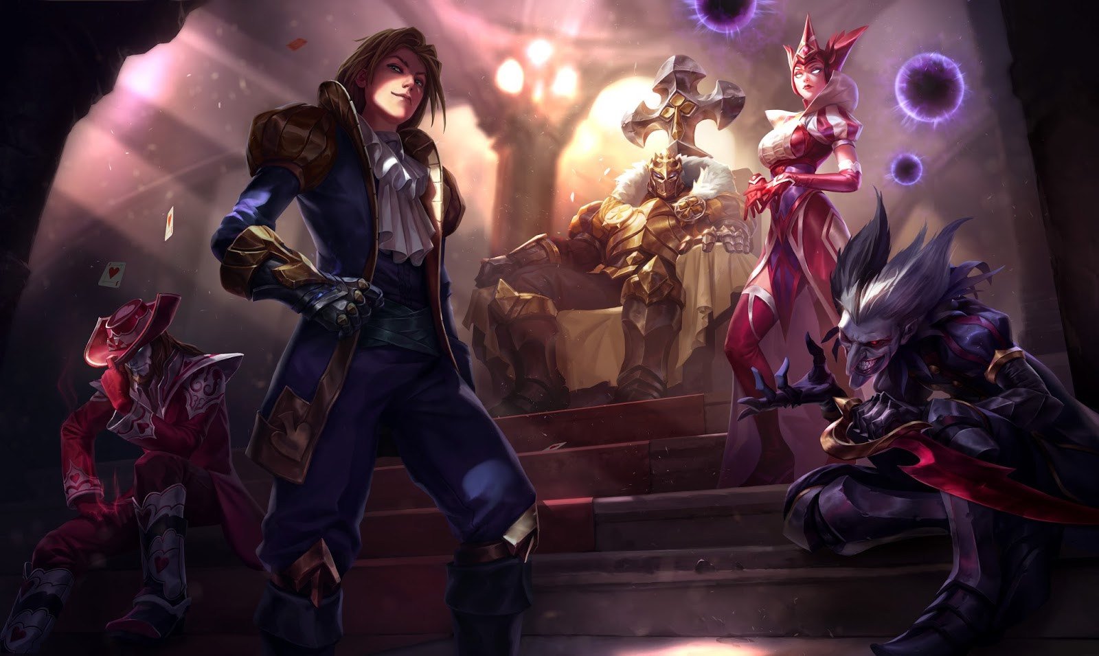 Ace Of Spades Ezreal And Jack Of Hearts Twisted Fate Use A
