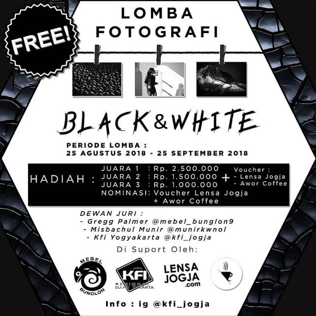 Lomba Fotografi Black and White
