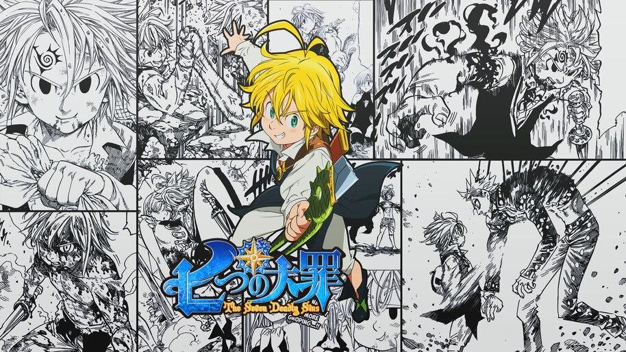 Meliodas, [Nanatsu no Taizai], Manga, 4K, #4.1214
