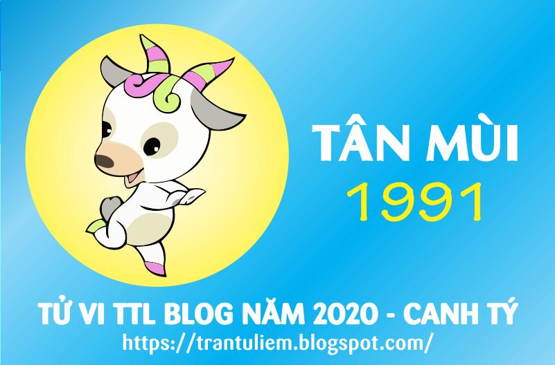 TỬ VI TUỔI TÂN MÙI 1991 NĂM 2020 ( Canh Tý )