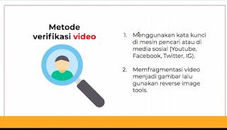 Metode verifikasi video