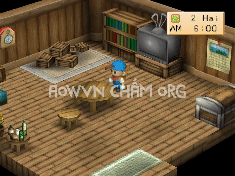 game harvest moon viet hoa ps1 back to nature aowvn%2B%25284%2529 - [PS1] Game Harvest Moon : Back To Nature Việt Hóa | Giả lập Android & PC - tiếp tục làm nông nào