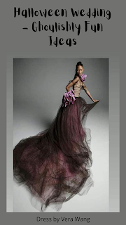 Vera Wang Wedding dress-wedding theme-halloween-wedding event-Weddings by KMich Philadelphia PA