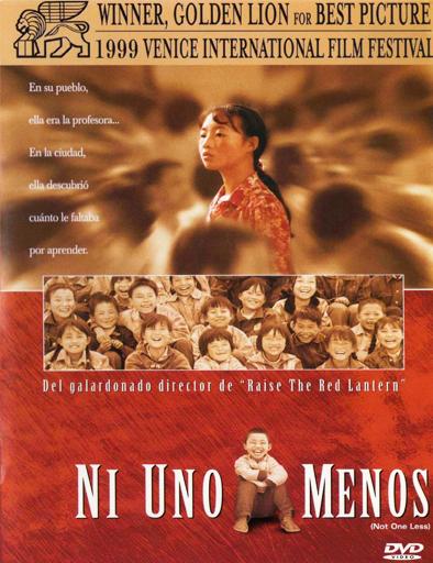 Ver Ni uno menos (Yi ge dou bu neng shao) (1999) Online