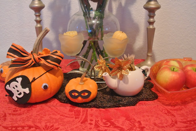 Table Decor, Pumpkins, Autumn
