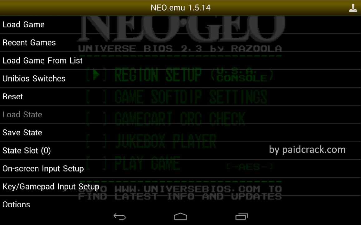 NEO.emu Mod Apk 1.5.51 [Paid]