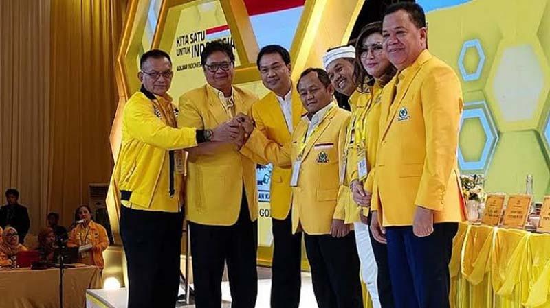 Airlangga Hartarto Kembali Pimpin Partai Golkar